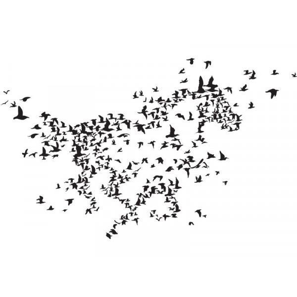 Adesivo de Parede Birds