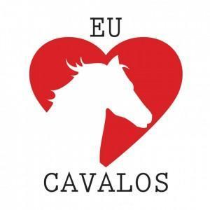 Baby Look Amo Cavalos - Branca