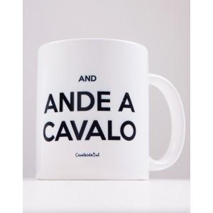Caneca Keep Calm and Ande a Cavalo